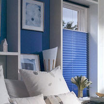Brilliance® pleated shades